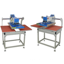 Pneumatic duplex hot press machine for t shirts